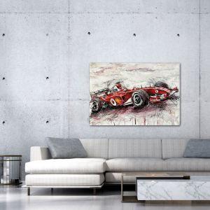 Kunstwerk Michael Schumacher Ferrari 2006 #0023