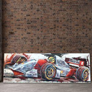 Œuvre d'art Ayrton Senna McLaren I #0024