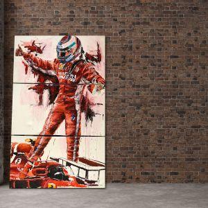 Kunstwerk Kimi Räikkönen USA 2018 #0027