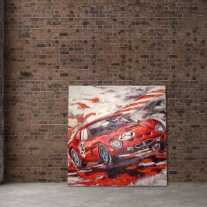 Œuvre d'art Ferrari 250 GTO 1961 #0033
