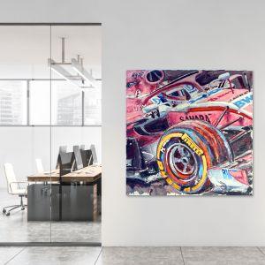 Kunstwerk Sergio Pérez 2018 #0035