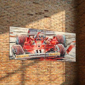 Kunstwerk Niki Lauda #0036