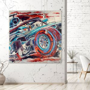 Kunstwerk Lewis Hamilton 2018 #0037