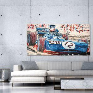 Œuvre d'art Jackie Stewart 1971 #0040