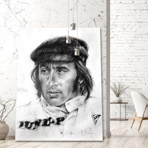Œuvre d'art Sir Jackie Stewart I #0047