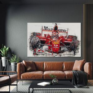 Kunstwerk Michael Schumacher #0049