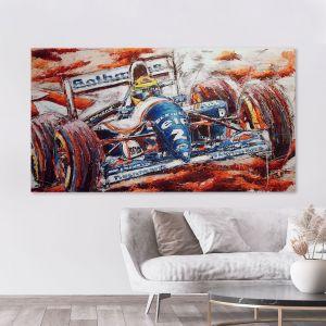 Kunstwerk Ayrton Senna #0056