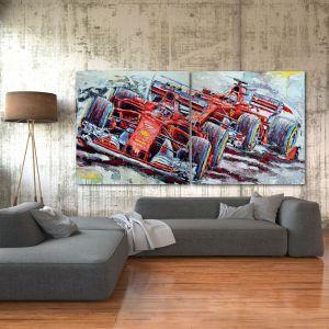 Œuvre d'art 2 Ferraris 2018 #0057