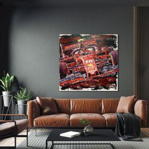 Kunstwerk Charles Leclerc 2019 #0058
