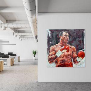 Kunstwerk Wladimir Klitschko 2012 #0060