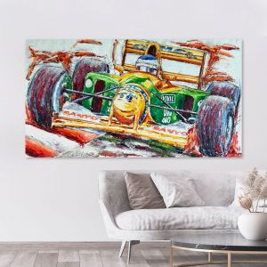 Obra de arte Michael Schumacher Benetton #0061