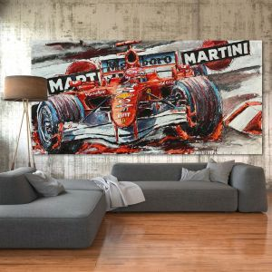 Artwork Michael Schumacher Moncao #0013