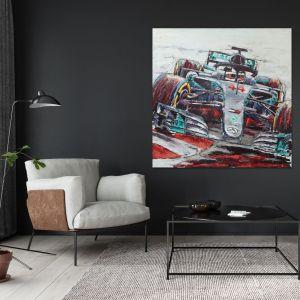 Œuvre d'art Lewis Hamilton 2019 #0020