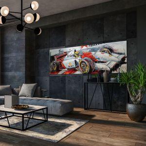 Œuvre d'art Ayrton Senna McLaren II #0025