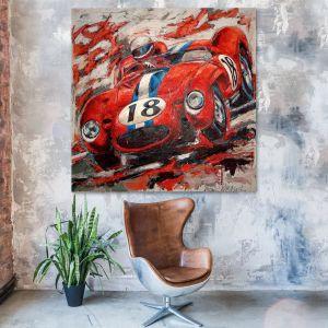 Artwork Ferrari 250 Testa Rossa 1956 #0034