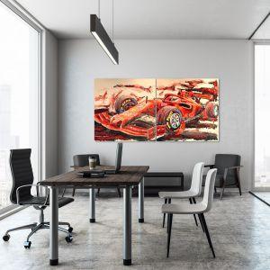 Kunstwerk Sebastian Vettel 2019 #0044