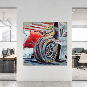 Kunstwerk Ayrton Senna #0051