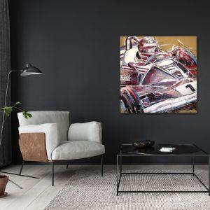 Kunstwerk Niki Lauda I #0052