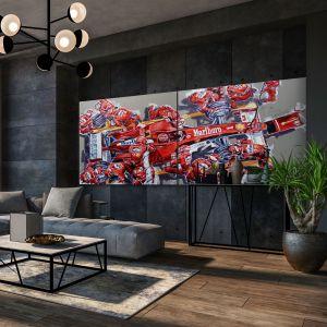 Obra de arte Michael Schumacher Pitstop #0045