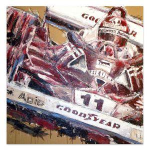 Œuvre d'art Niki Lauda III #0054