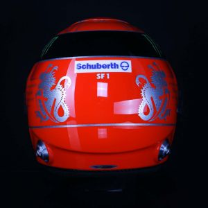Michael Schumacher Replika Helm 1:1 2012
