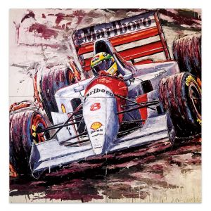 Obra de arte Ayrton Senna #0059