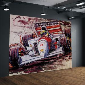 Œuvre d'art Ayrton Senna #0059
