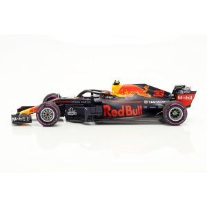 Max Verstappen Red Bull Racing RB14 #33 Ganador México F1 2018 1/18