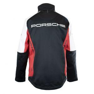 Porsche Motorsport Damen Softshell Jacke schwarz