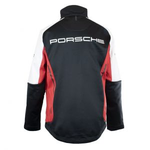 Porsche Motorsport Softshell Jacke schwarz