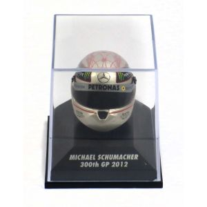 Michael Schumacher Replika Helm 300th GP Spa 2012 1:8