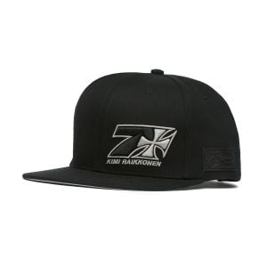 Kimi Räikkönen Cap Cross Seven Flatbrim black