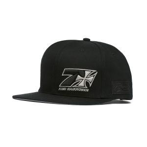 Kimi Räikkönen Cappello Cross Seven a visiera piatta nero