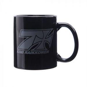 Kimi Räikkönen Tasse Cross Seven schwarz