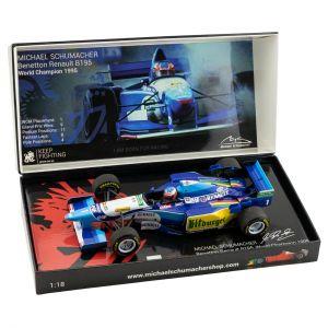 Michael Schumacher Benetton Renault B195 Campione del mondo 1995 1/18