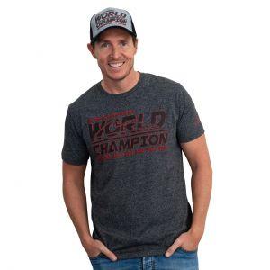 T-Shirt Michael Schumacher Racing antracite
