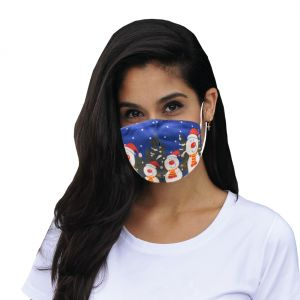"""Mund-Nasen Maske """"Schneemann"""""""