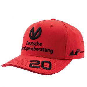 Cappello Mick Schumacher 2020 rosso