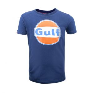 Gulf T-Shirt Dry-T Children navy blue