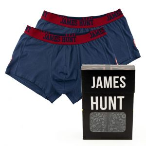 James Hunt Boxers 76 Double Pack