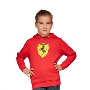 Scuderia Ferrari - Felpa con cappuccio per bambini