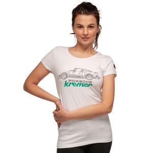 T-Shirt da donna Kremer Racing Porsche 911 Carrera Carrera No. 9