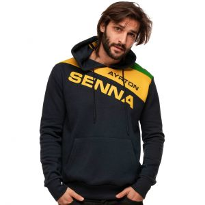 Ayrton Senna Kapuzenpullover Racing II
