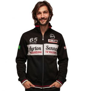 Ayrton Senna Chaqueta sudadera Grand Prix Racer