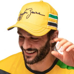 Ayrton Senna Casquette Casque