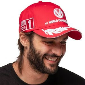 Michael Schumacher Cap World Champion 2000 Limited Edition rot