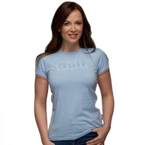 Gulf 3D T-shirt Femmes bleu gulf