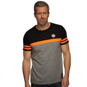 Gulf T-Shirt Super Tee schwarz/grau