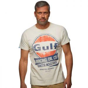 Gulf Maglietta Oil Racing crema