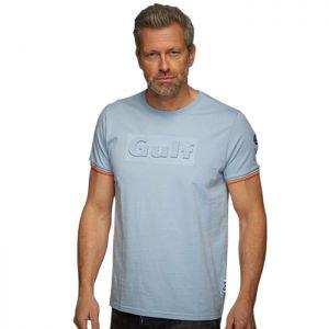 Gulf 3D T-shirt bleu Gulf